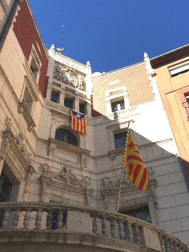 Façana de l'Ajuntament de Berga
