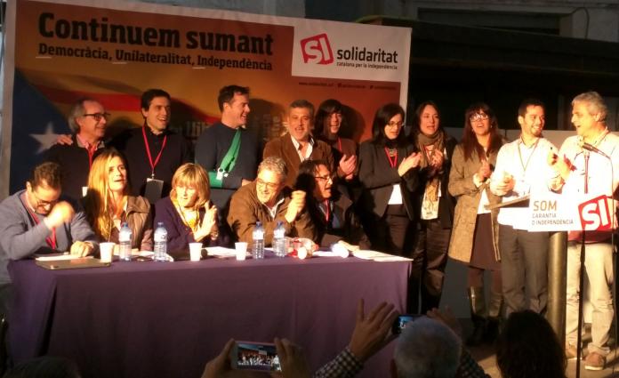 L'Executiva Nacional elegida en el III Congrés de Solidaritat Catalana per la Independència