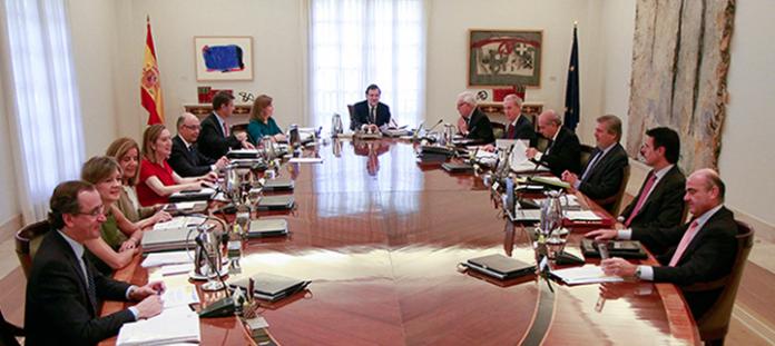 Fotografia oficial del Govern espanyol