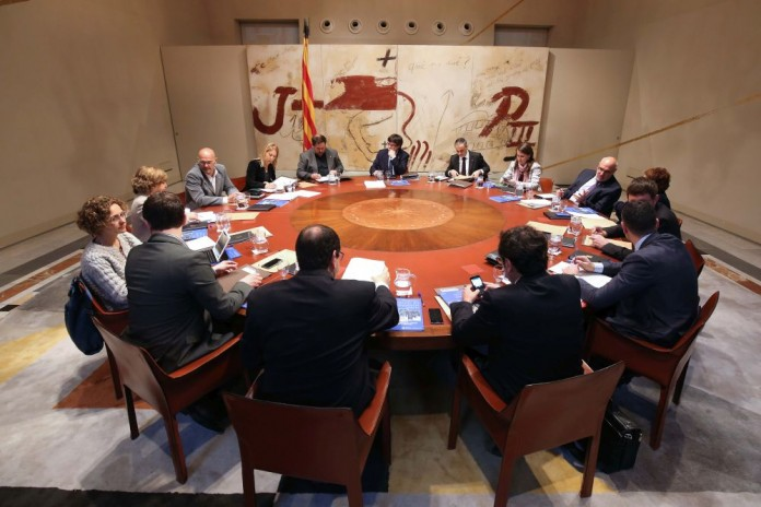 Foto de la reunió del Consell Executiu