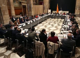Cimera al Palau de la Generalitat de Catalunya (Fotografia: Jordi Bedmar)