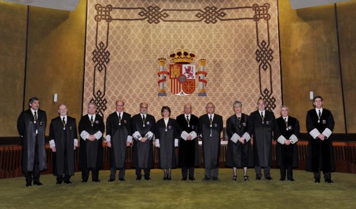 El Ple del Tribunal Constitucional, després de l'onzena renovació (2013)