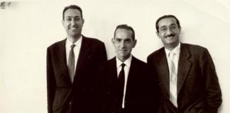 Josep M. Castellet, Salvador Espriu i Joan Fuster (Gandia, Octubre 1959)