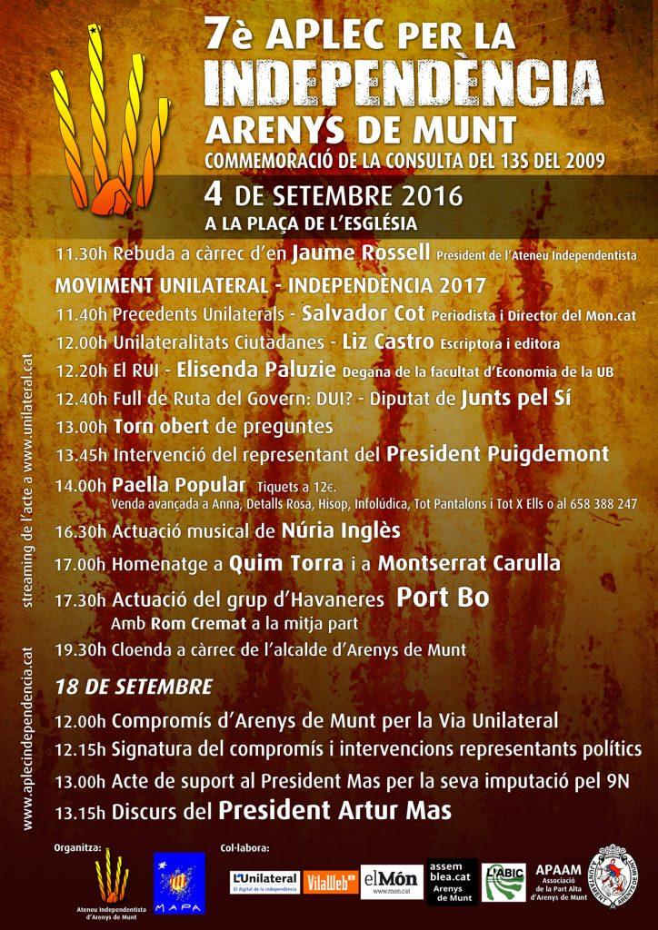 Aplec Independentista 2016