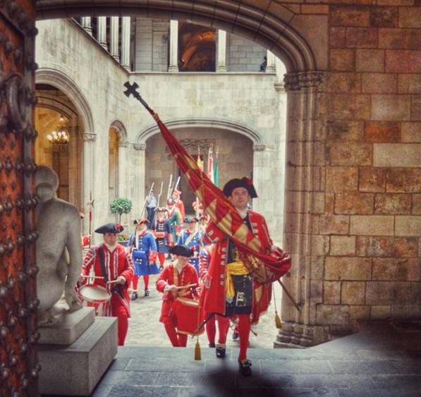 La Coronela de Barcelona l'Onze de Setembre del 2015