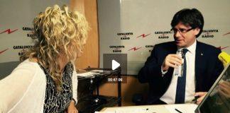 Carles Puigdemont entrevistat per Mònica Terribas