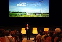 Conferència d'en Jeremy Rifkin a Sant Cugat.