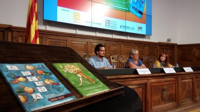 Acte de presentació de les Agendes escolars per a la Franja