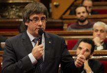 Puigdemont en la sessió de control del Parlament | Parlament de Catalunya