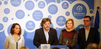 Roda de premsa de D's presentant els acords del Consell Nacional | D's