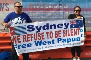 """Adhesions a la campanya """"Free West Papua"""" des de Sydney, Austràlia"""