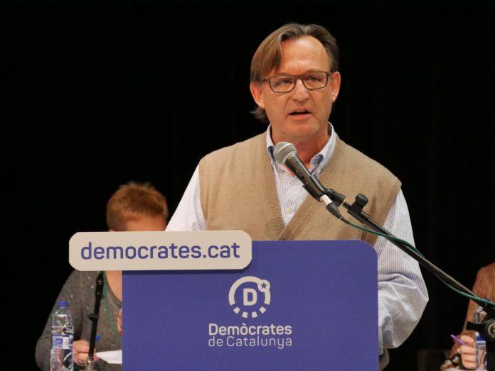 Vila d'Abadal en el seu discurs en el Consell Nacional de Demòcrates | Demòcrates de Catalunya