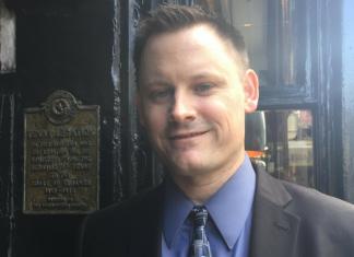 Nate Smith, director executiu del TNM, Moviment Nacionalista Texà.