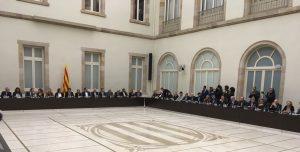Reunió inicial del Pacte pel Referèndum