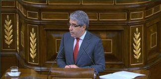 Francesc Homs en una intervenció al Congrés dels Diputats espanyol