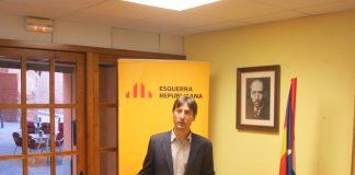 Jordi Solé en un acte de les eleccions municipals | ERC Caldes de Montbui