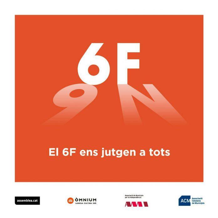Cartell de l'acte de suport de 6F | ANC