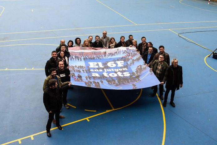 Representants de les entitats que s'han trobat aquest dissabte | Assemblea Nacional Catalana