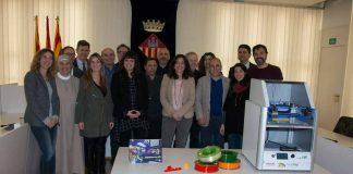 Presentació del projecte a l'Ajuntament de Sant Cugat