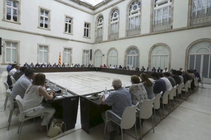 Reunió sobre el Pacte Nacional pel Dret a l'Autodeterminació