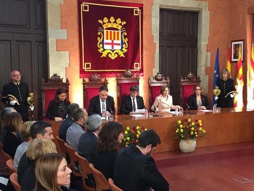 Acte d'inici de la commemoració del 125è aniversari de les Bases de Manresa | Ajuntament de Manresa