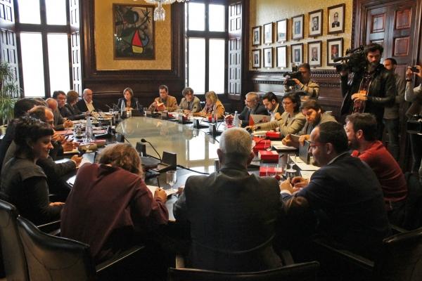Reunió de la Mesa i la Junta de Portaveus del Parlament de Catalunya d'aquest dimarts   Parlament de Catalunya