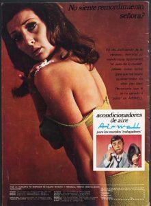Anunci publicitari on es fa visible el sexisme. MHC (Fons Ramona Vila)