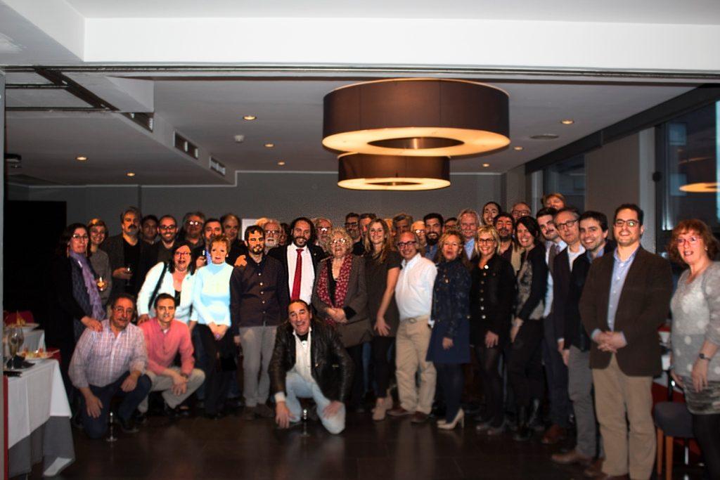Foto de grup dels col·laboradors de l'Unilateral | Joaquim Gil