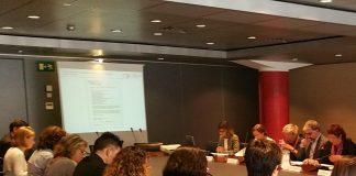 El Consell de Relacions Laborals en una de les seves reunions l'any passat   Generalitat de Catalunya