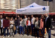 Una de les 11 carpes que el partit ha muntat a Barcelona | PDeCAT Barcelona