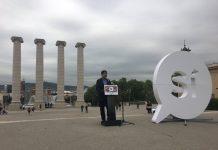 Jordi Sànchez presentant la campanya pel 'Sí' de l'ANC | ANC
