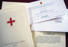 Creus de Sant Jordi de l'any 2007   tinavalles (flicker)