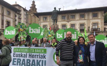 Jordi Gaseni, vicepresident primer de l'AMI ha participat en l'acte a Gernika (Busturialdea)   AMI