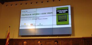 Acte de presentació del llibre 'Política de defensa i Estat propi' a Lleida | Joan-Francesc Vich