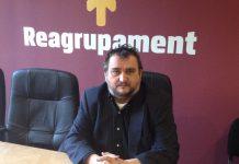 Josep Sort, nou president de Reagrupament, a la Seu Nacional del partit