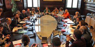 Reunió de la Junta de Portaveus on s'ha decidit l'ordre del dia del proper ple | Parlament de Catalunya