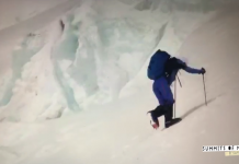 Killian Jornet a l'Everest. Font: Summits of my life
