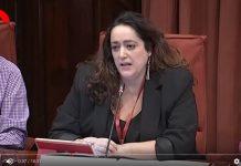 Compareixença de Patricia López, davant la Comissió d'Investigació sobre l'Operació Catalunya l'Unilateral el digital de la independència