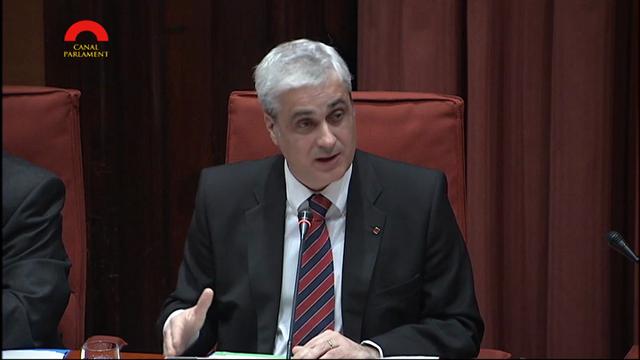 Germà Gordó presidint una comissió del Parlament de Catalunya | Parlament de Catalunya