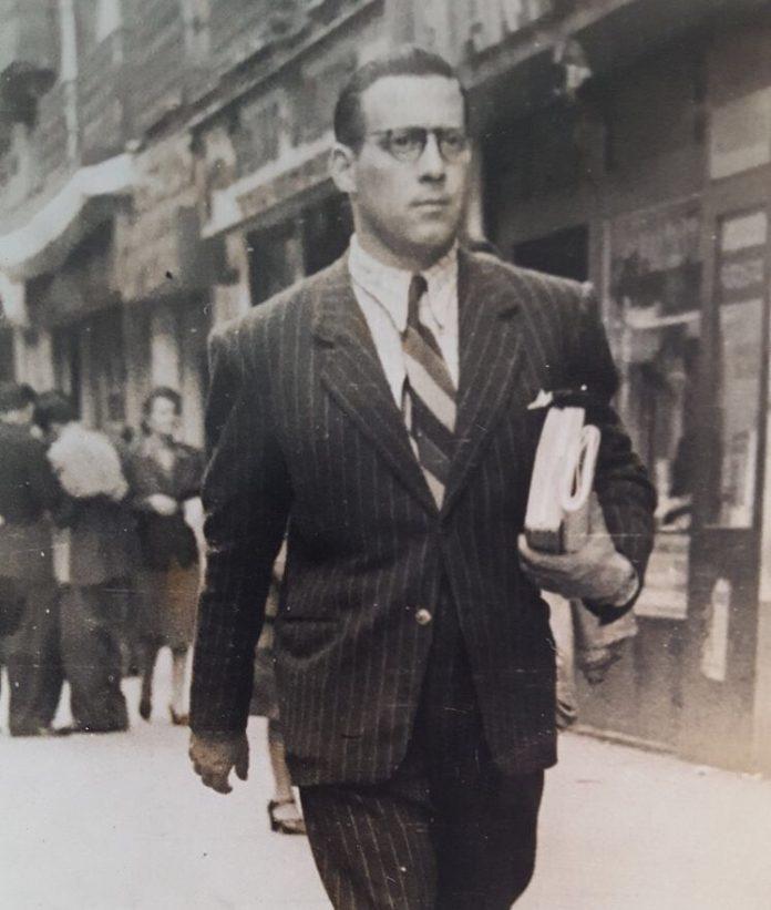 Carles Sala durant l'exili a Mèxic