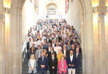 Alcaldes present a l'acte de suport del referèndum | AMI