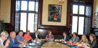 Reunió de la Mesa del Parlament d'aquest dimarts al matí | Parlament de Catalunya