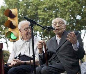 Heribert Barrera i el Dr. Moisès Broggi