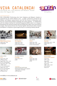 Cartell del Festival d'arts al carrer a Amersfoort (Holanda)
