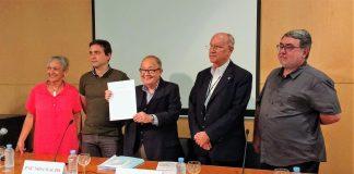Roda de premsa per presentar la iniciativa | Pau Miserachs