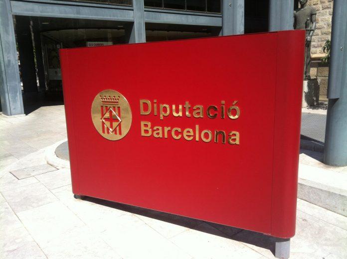 Logotip de la Diputació de Barcelona a l'exterior de l'edifici | Kippelboy (Viquipèdia)