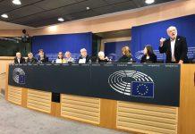 L'eurodiputat Josep M. Terricabres en la presentació de la plataforma | Josep M. Terricabres