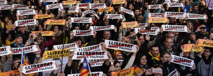 Manifestació per la Llibertat. Foto: Roser Vilallonga - Barcelona, 11/11/2017