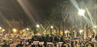 Manifestació a Barcelona per demanar l'alliberament dels presos polítics 3 mesos després de l'empresonament dels Jordis | ANC
