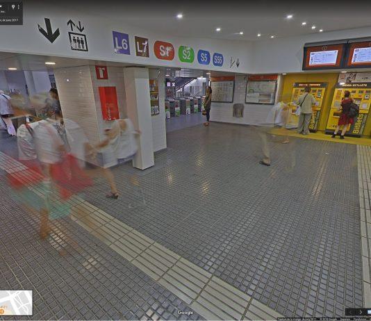 Google StreetView Pl. Catalunya | Generalitat de Catalunya